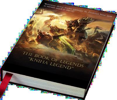 kniha legend